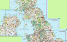 Printable Road Maps Uk