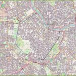Large Detailed Map Of Vienna With Printable Map Of Vienna