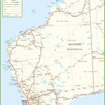 Large Detailed Map Of Western Australia With Cities And Towns Throughout Printable Map Of Western Australia