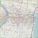 Large Detailed Street Map Of Philadelphia With Philadelphia Street Map Printable