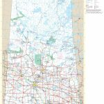 Large Detailed Tourist Map Of Saskatchewan With Cities And Towns With Regard To Printable Map Of Saskatchewan