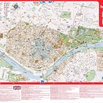 Large Detailed Tourist Map Of Seville Inside Printable Tourist Map Of Seville