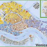 Large Detailed Tourist Map Of Venice Regarding Tourist Map Of Venice Printable