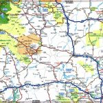 Large Detailed Tourist Map Of Wyoming With Cities And Towns Within Printable Map Of Wyoming