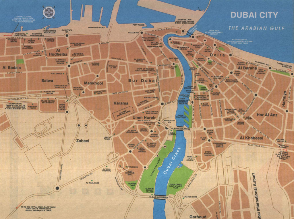 Large Dubai Maps For Free Download And Print | High-Resolution And inside Dubai Tourist Map Printable