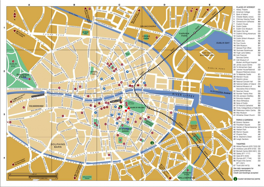 Large Dublin Maps For Free Download And Print | High-Resolution And regarding Dublin City Map Printable