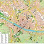 Large Florence Maps For Free Download And Print | High Resolution Throughout Printable Walking Map Of Florence