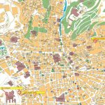 Large Granada Maps For Free Download And Print | High Resolution And Throughout Printable Street Map Of Granada Spain