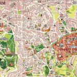 Large Jerusalem Maps For Free Download And Print | High Resolution Pertaining To Free Printable Aerial Maps