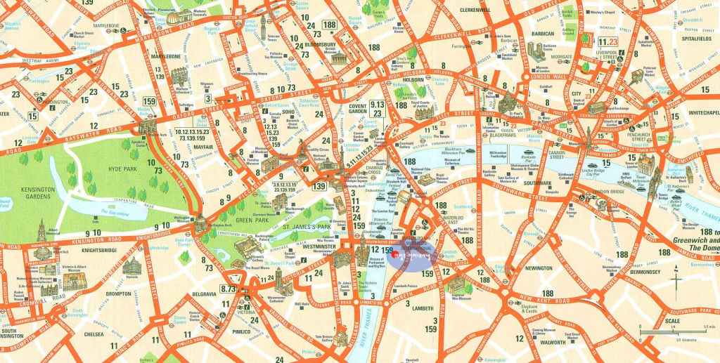 Large London Maps For Free Download And Print | High-Resolution And with Printable Map Of London