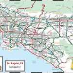 Large Los Angeles Maps For Free Download And Print | High Resolution Inside Printable Map Of Los Angeles County