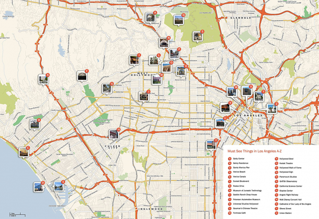 Large Los Angeles Maps For Free Download And Print | High-Resolution intended for Printable Map Of Los Angeles