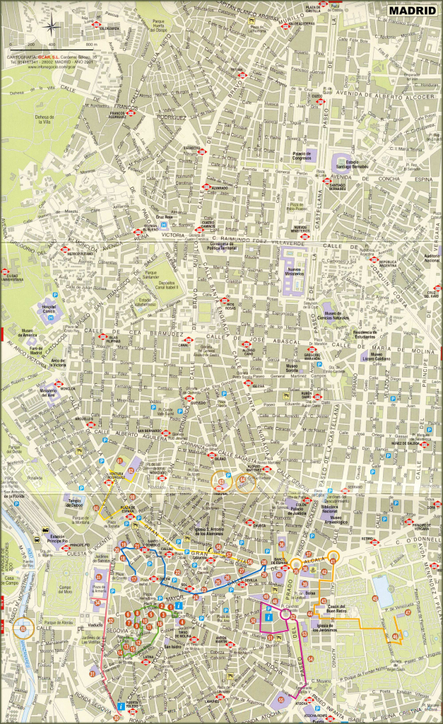 Large Madrid Maps For Free Download And Print | High-Resolution And in Madrid City Map Printable