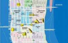 Nyc Tourist Map Printable