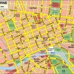 Large Melbourne Maps For Free Download And Print | High Resolution In Melbourne Tourist Map Printable
