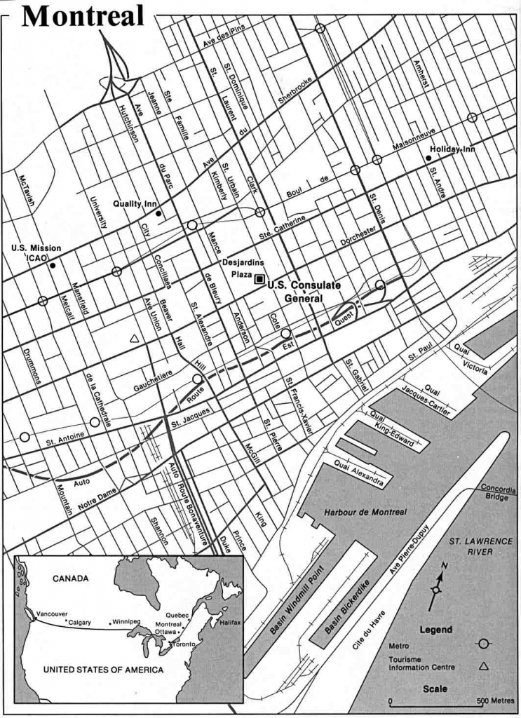 Large Montreal Maps For Free Download And Print   High-Resolution with Printable Map Of Downtown Montreal