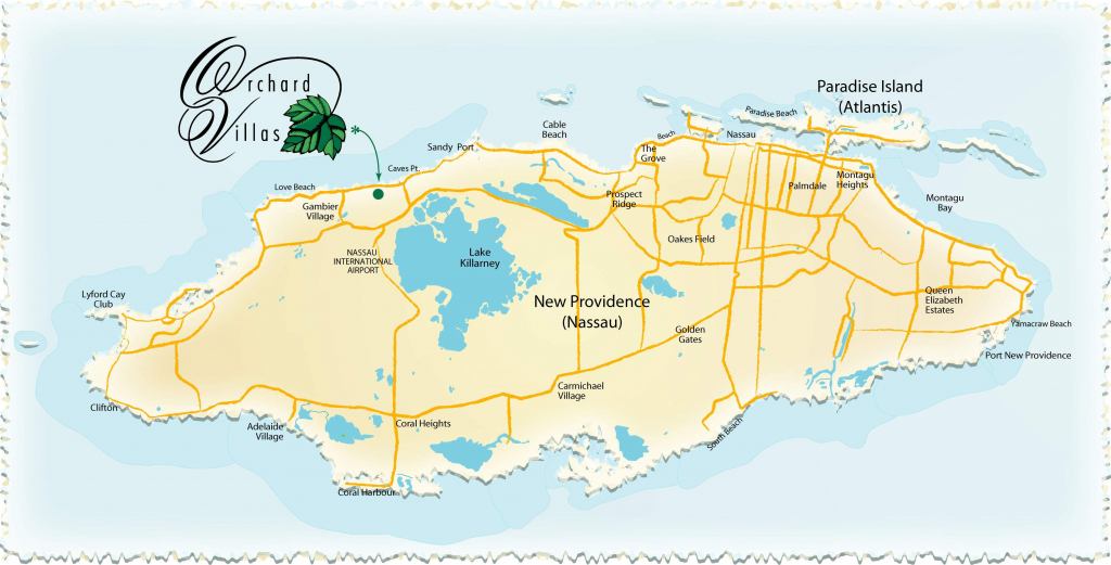 Large Nassau Maps For Free Download And Print | High-Resolution And throughout Printable Map Of Nassau Bahamas