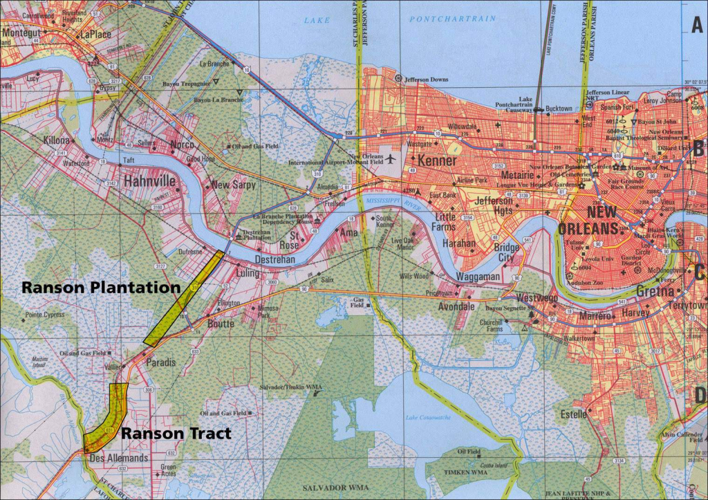 Large New Orleans Maps For Free Download And Print | High-Resolution inside Printable Map Of New Orleans