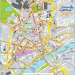 Large Newcastle Maps For Free Download And Print | High Resolution Inside Printable Street Map Of Harrogate Town Centre
