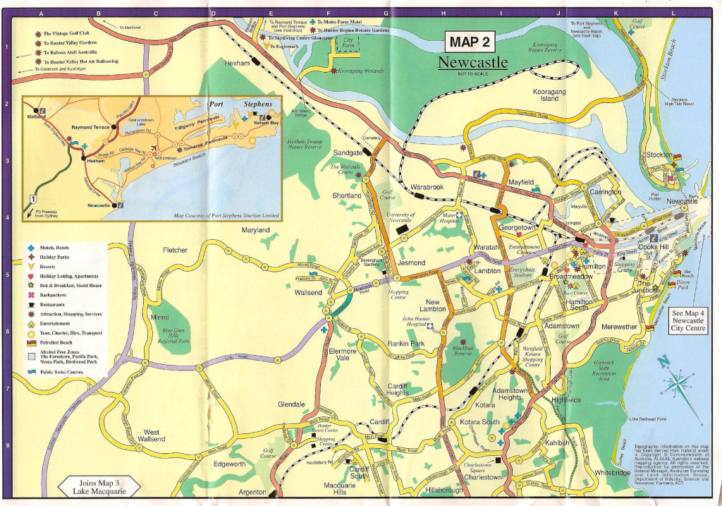 Large Newcastle Maps For Free Download And Print | High-Resolution pertaining to Printable Map Of Newcastle Nsw