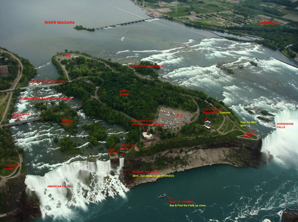 Large Niagara Falls Maps For Free Download And Print | High with Printable Map Of Niagara On The Lake