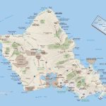 Large Oahu Island Maps For Free Download And Print | High Resolution Within Printable Map Of Waikiki
