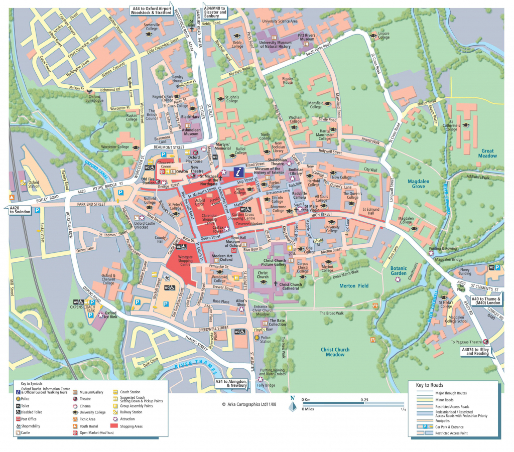Large Oxford Maps For Free Download And Print | High-Resolution And regarding Printable Map Of Oxford