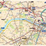 Large Paris Maps For Free Download And Print | High Resolution And With Street Map Of Paris France Printable
