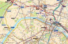 Street Map Of Paris France Printable