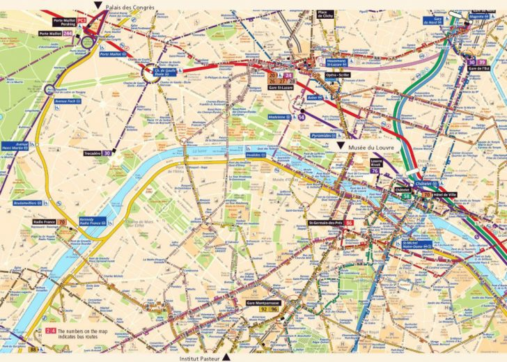 Street Map Of Paris France Printable