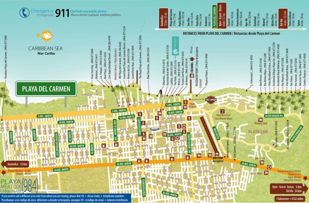 Large Playa Del Carmen Maps For Free Download And Print | High pertaining to Printable Map Of Playa Del Carmen