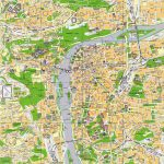 Large Prague Maps For Free Download And Print   High Resolution And Regarding Prague City Map Printable