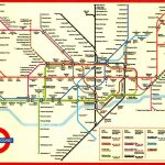 Large Print Tube Map Pleasing London Underground Printable With And Inside Printable Underground Map