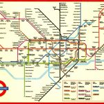 Large Print Tube Map Pleasing London Underground Printable With And Throughout Printable London Tube Map