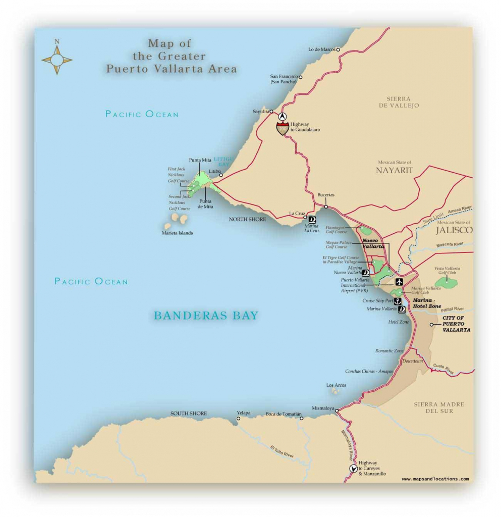 Large Puerto Vallarta Maps For Free Download And Print | High for Puerto Vallarta Maps Printable