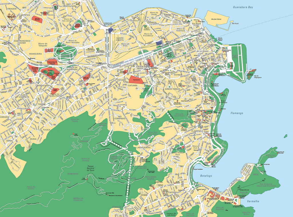 Large Rio De Janeiro Maps For Free Download And Print | High with regard to Printable Map Of Rio De Janeiro