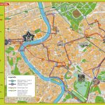 Large Rome Maps For Free Download And Print | High Resolution And Inside Printable Walking Map Of Rome