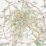Large Rome Maps For Free Download And Print | High Resolution And Intended For Printable Walking Map Of Rome