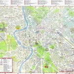 Large Rome Maps For Free Download And Print | High Resolution And Regarding Street Map Of Rome Italy Printable