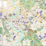 Large Rome Maps For Free Download And Print   High Resolution And With Printable Walking Map Of Rome