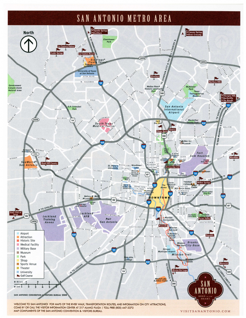 Large San Antonio Maps For Free Download And Print | High-Resolution in Printable Map Of San Antonio