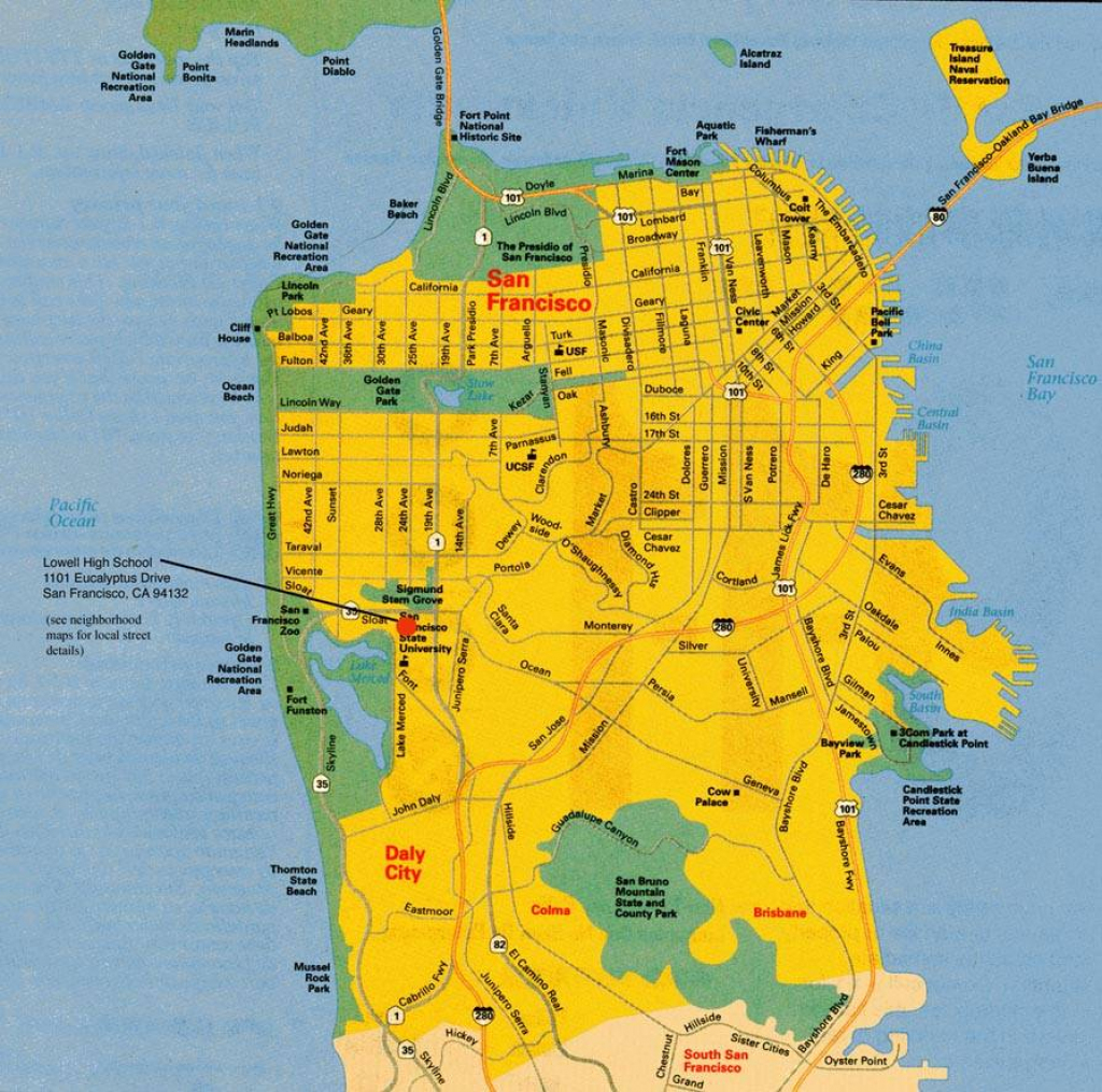 Large San Francisco Maps For Free Download And Print | High pertaining to Printable Map Of San Francisco Streets
