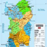 Large Sardinia Maps For Free Download And Print | High Resolution With Regard To Printable Map Of Sardinia