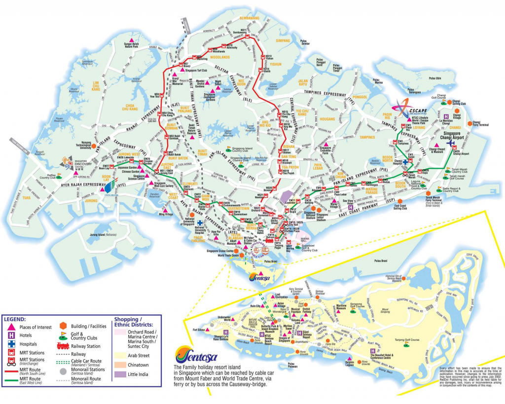 Large Singapore City Maps For Free Download And Print | High for Printable Map Of Singapore