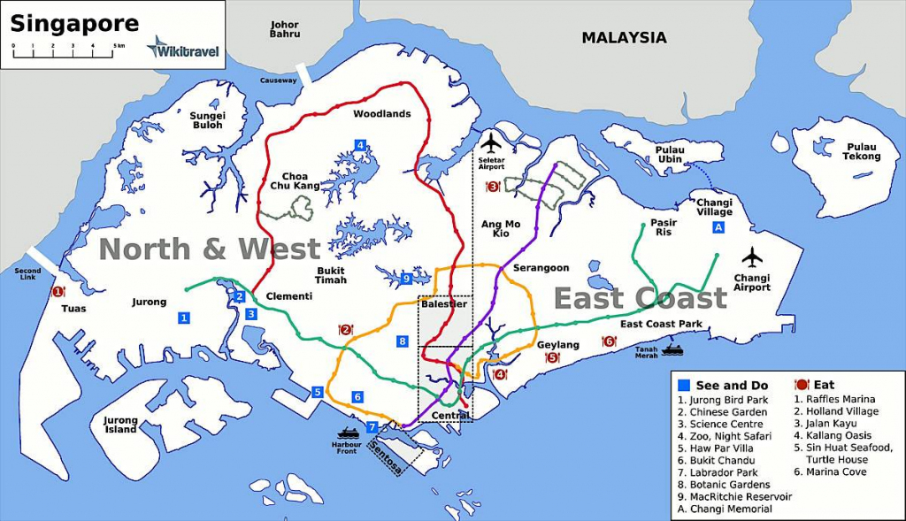 Large Singapore City Maps For Free Download And Print | High inside Singapore City Map Printable