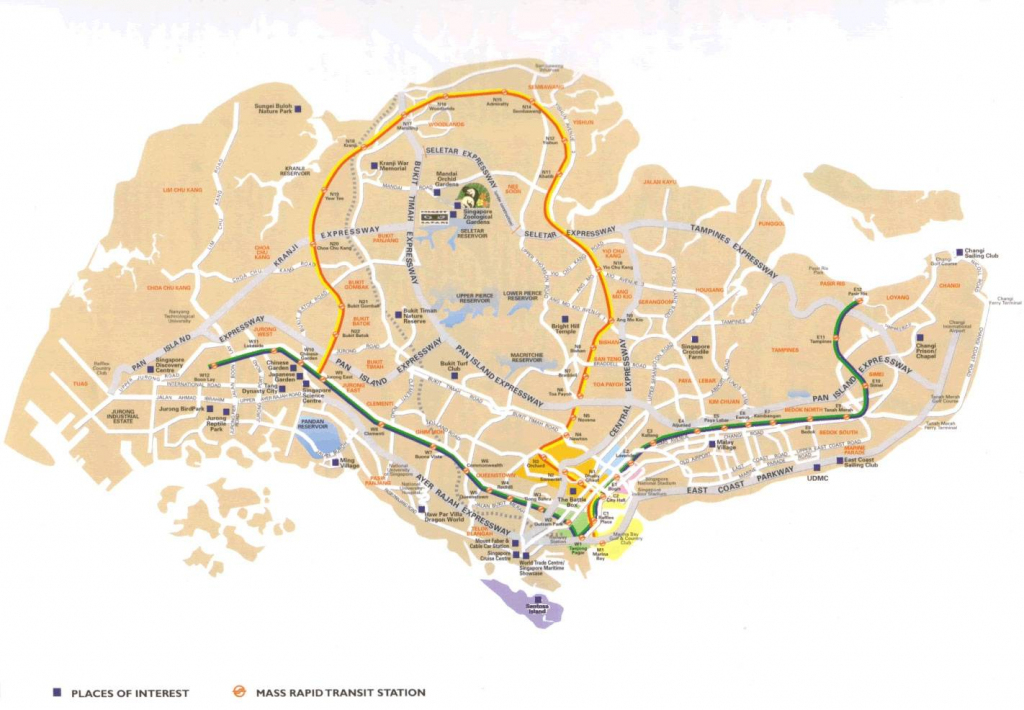 Large Singapore City Maps For Free Download And Print | High within Printable Map Of Singapore