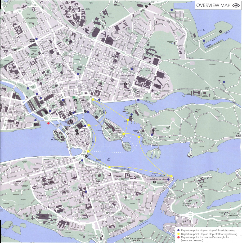 Large Stockholm Maps For Free Download And Print | High-Resolution for Printable Map Of Stockholm