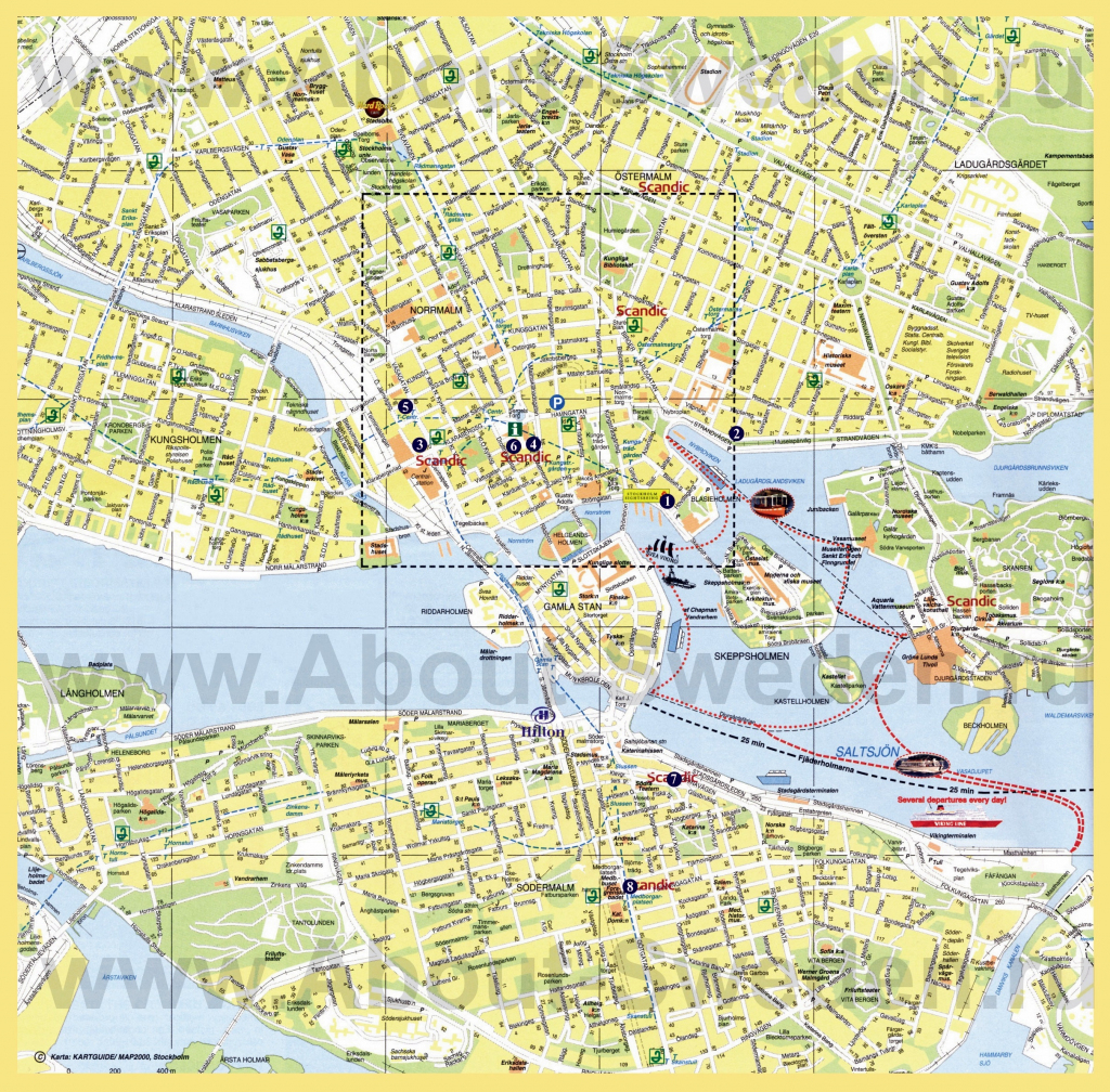 Large Stockholm Maps For Free Download And Print | High-Resolution intended for Printable Map Of Stockholm