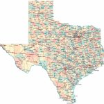 Large Texas Maps For Free Download And Print   High Resolution And In Printable Map Of Texas With Cities