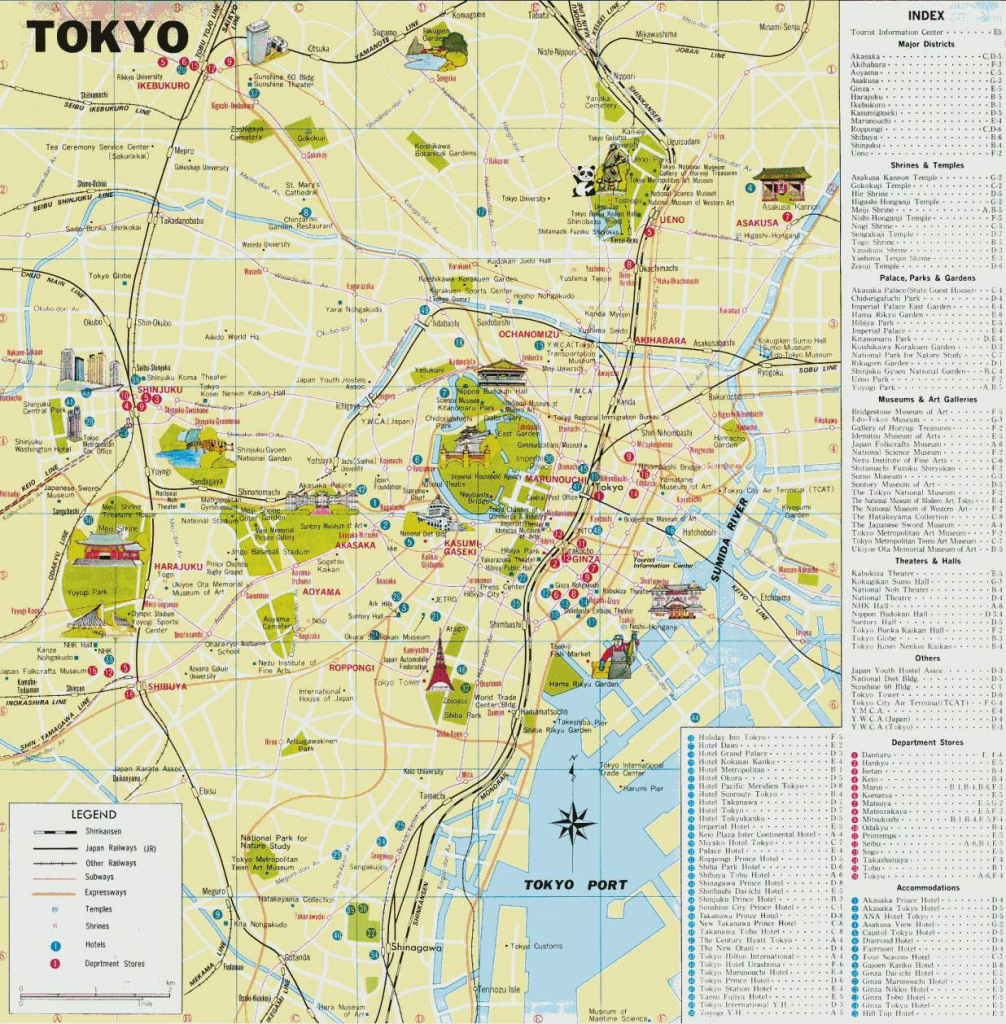 Large Tokyo Maps For Free Download And Print | High-Resolution And throughout Printable Map Of Tokyo